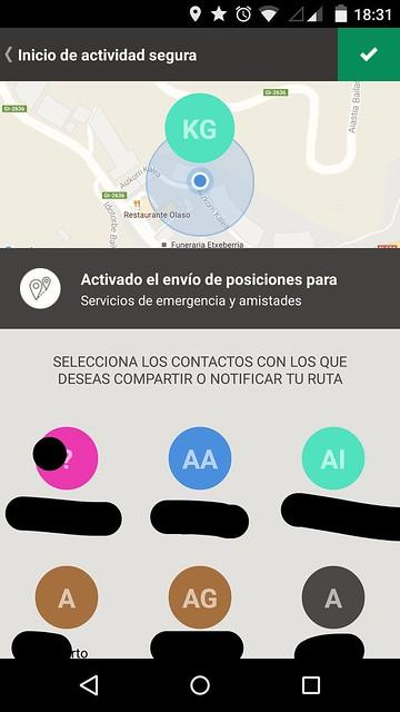 Alpify, app para añadir seguridad en tus salidas