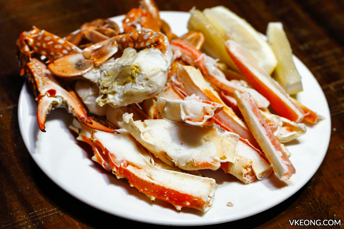 Red Oven So Sofitel Buffet Alaskan King Crabs