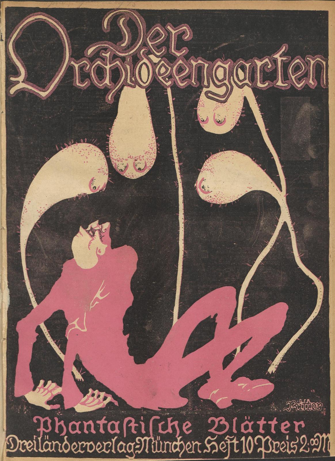 Der Orchideengarten - 1920 (Cover 10)