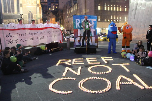 Reef not Coal - Shine a light on the Reef