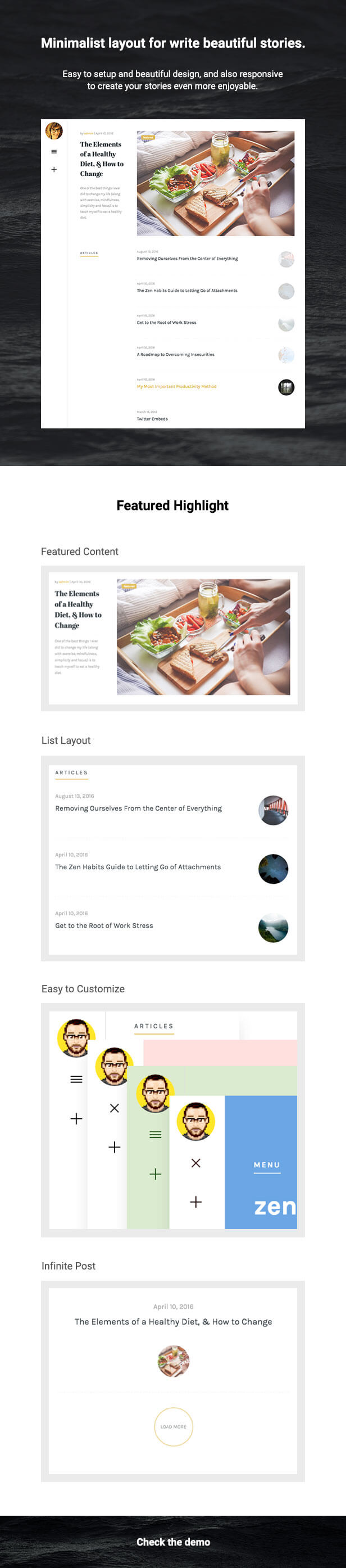 Olivia - Responsive WordPress Blog Theme