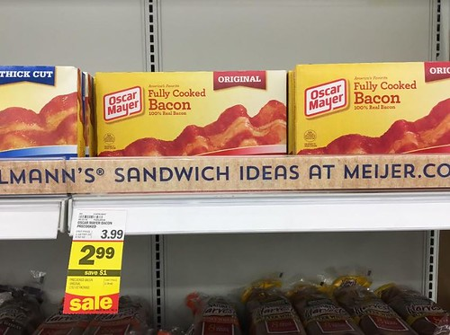 Bacon at Meijer