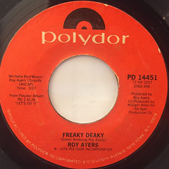ROY AYERS:FREAKY DEAKY(LABEL SIDE-A)