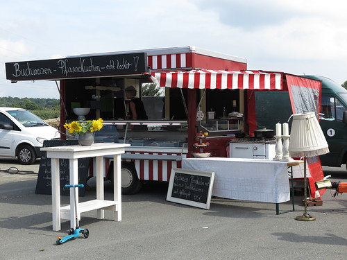 """Kochfest""-Stand (auf dem Street Food Festival in Osnabrück)"