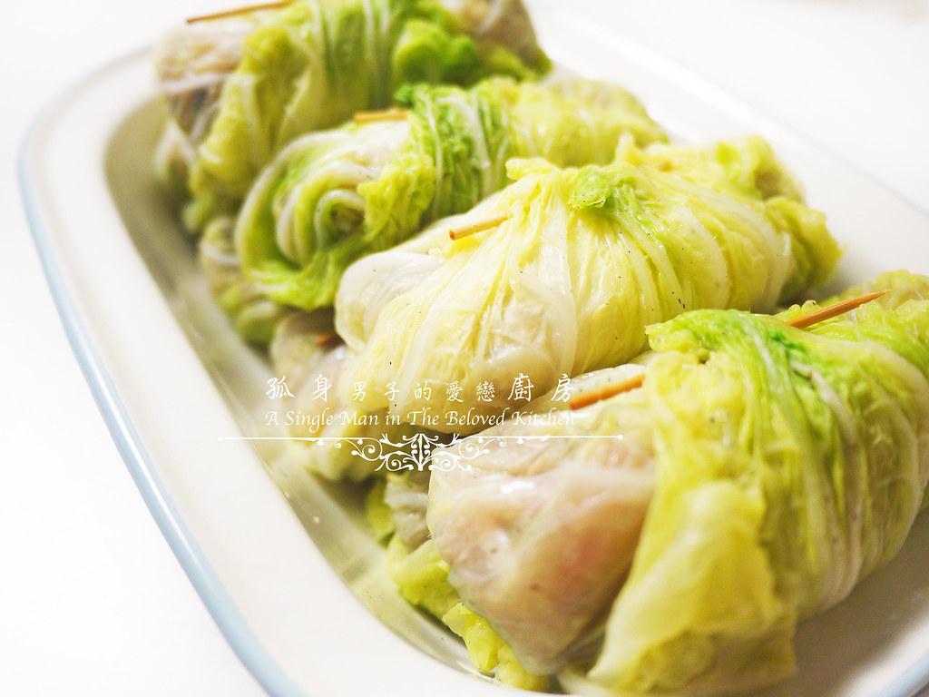 孤身廚房-大潤發義大利樂鍋史蒂娜湯鍋試用—日式白菜雞肉捲19