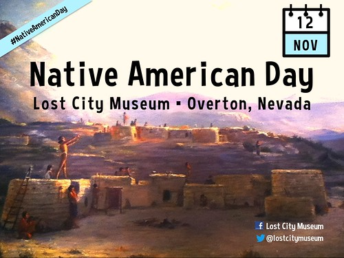 November 12 is Native American Day at the Lost City Museum