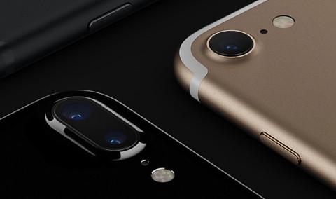 iPhone 7 カメラ周りの形状