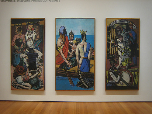 Departure, 1933-35, Max Beckmann, NY MOMA _7495