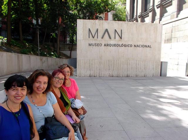 Las cuatro chironianas, en el Museo Arqueológico Nacional (24.9.16)