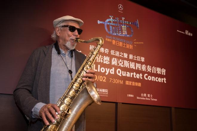 美國爵士大師獎得主查爾斯洛依德首度訪台,多元風格又充滿氣勢的演出堪稱本屆Summer Jazz 最大亮點
