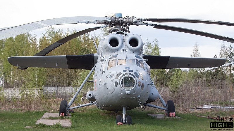 Russia Air Force Mi-6