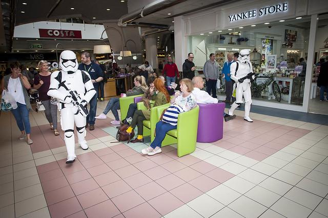 Storm Troopers invade Foyleside