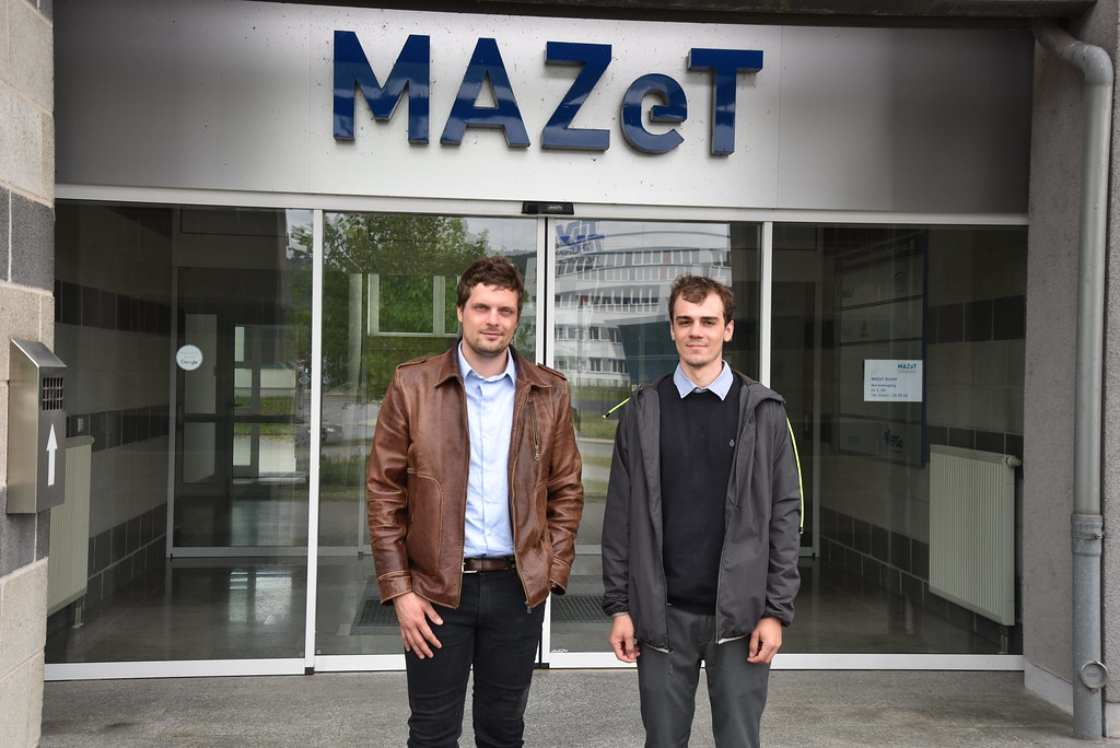 Lumulabs engineering team visits MAZeT in Jena, Germany