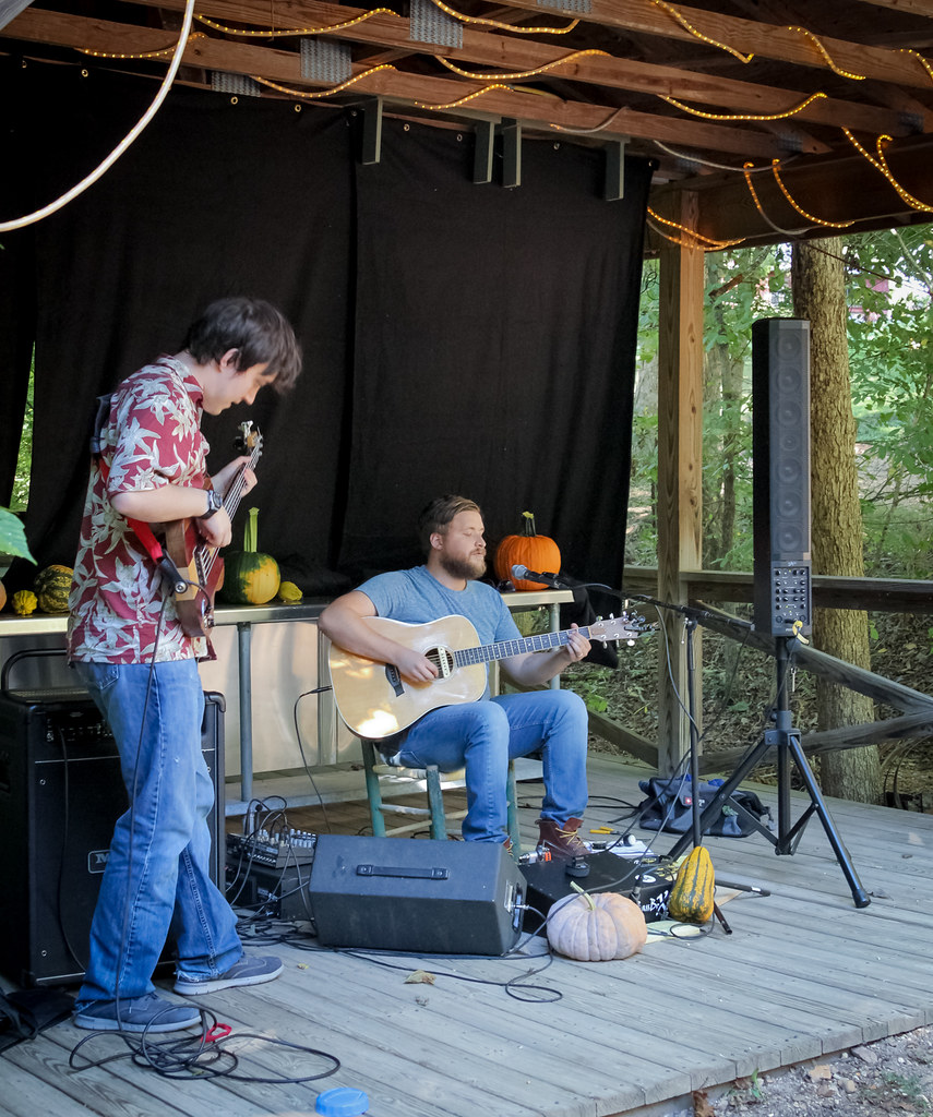 August Rolufs at Peaceful Bend Vineyard