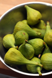 fresh green figs | by David Lebovitz
