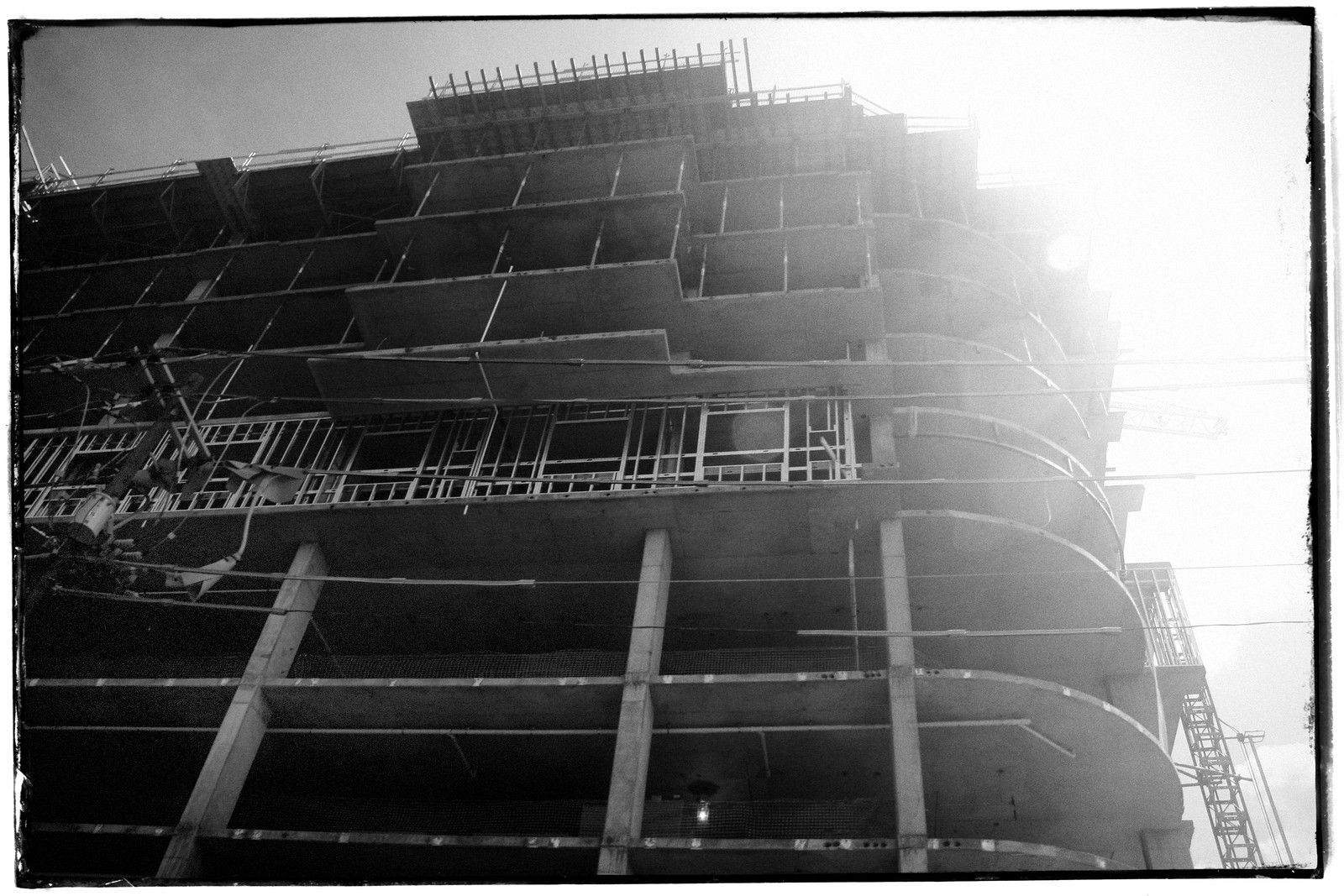 Construction, Midtown, Atlanta, Georgia
