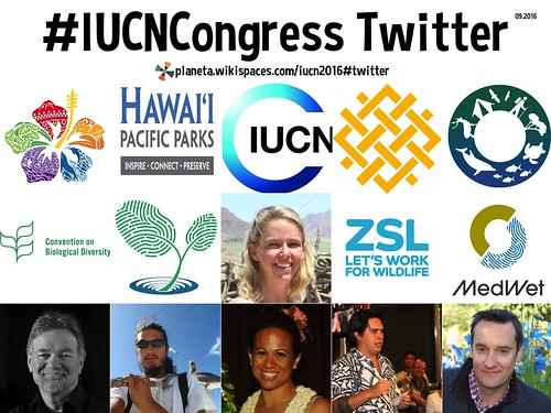 #IUCNCongress on Twitter 09.2016