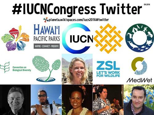 #IUCNCongress on Twitter 09.2016