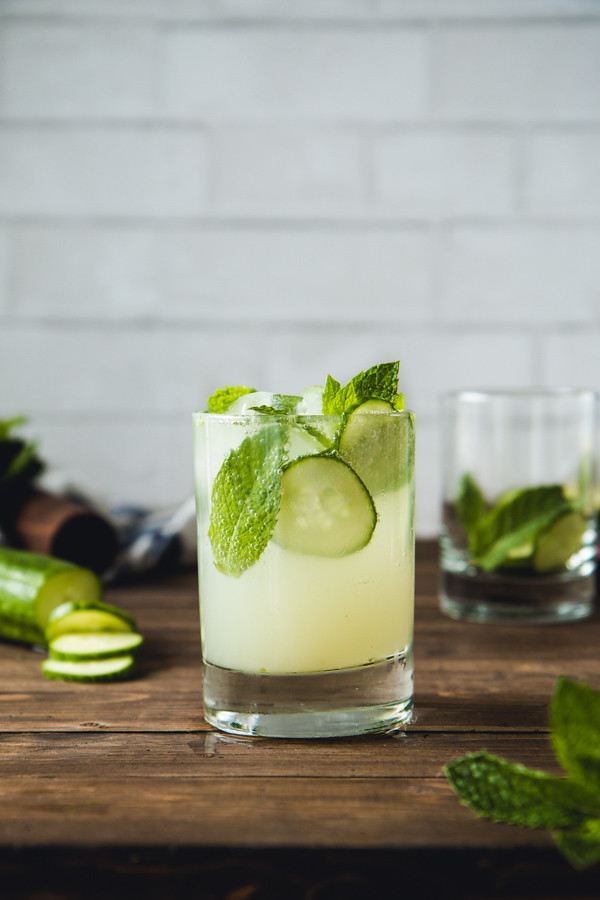 Cucumber & Mint Mojito | Will Cook For Friends