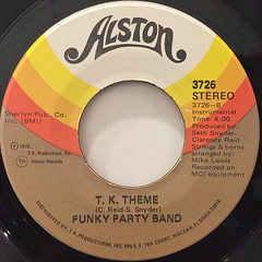 FUNKY PARTY BAND:LOVE PRESIDENT(LABEL SIDE-B)