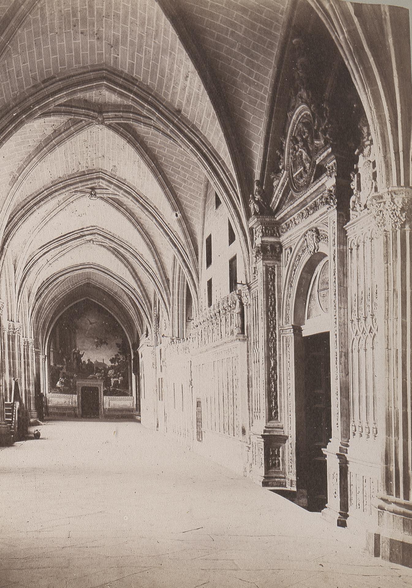 Claustro de la Catedral de Toledo en 1886 © Archives départementales de l'Aude