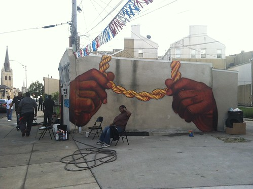 Painting for Kx Carwash in Sandtown | by gaia.streetart