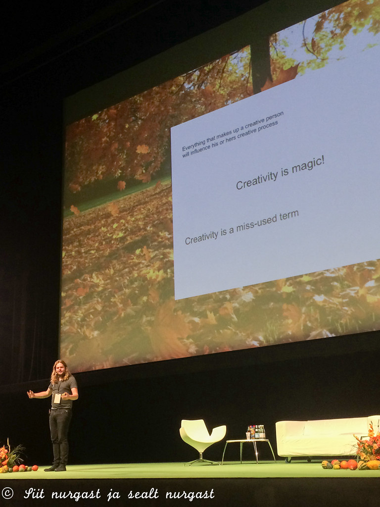 Magnus Nilsson at Sauce2015 in Tallinn