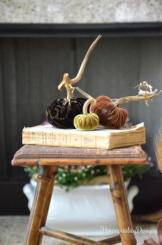 Velvet Pumpkins - Housepitality Designs