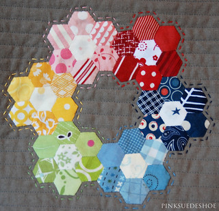 ring of hexies | by pinksuedeshoe