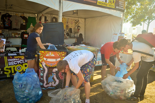 Recycling Store at FYF Fest 2012 | by Global Inheritance.