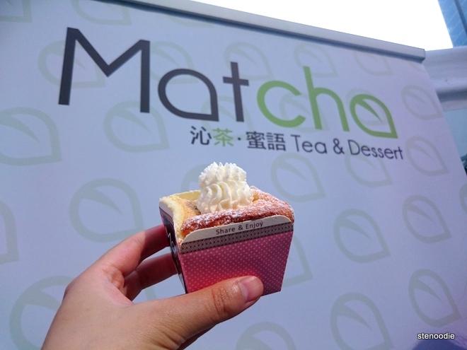 Matcha Tea & Dessert