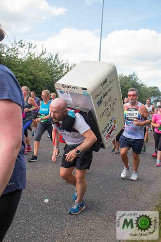 photo ID 0212 - Great North Run 2016, Tony The Fridge 100