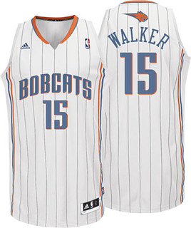 NBA Kemba Walker Home Adidas Revolution 30 Swingman Charlotte Bobcats Jersey | by basketballjerseyz