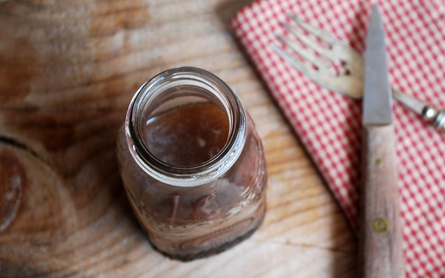 Honey Ginger Balsamic Dressing