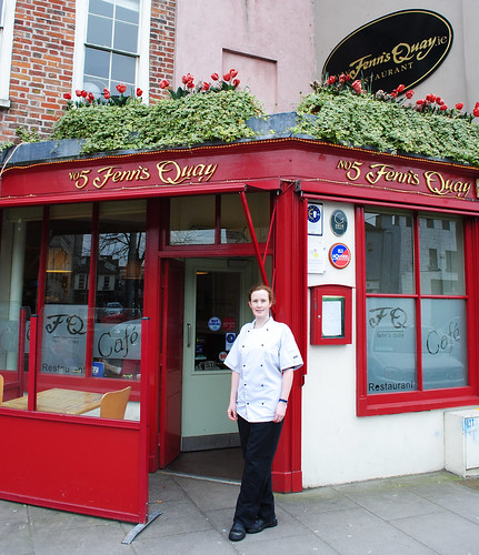 Chefess and Owner of Fenn's Quay, Kate Lawlor