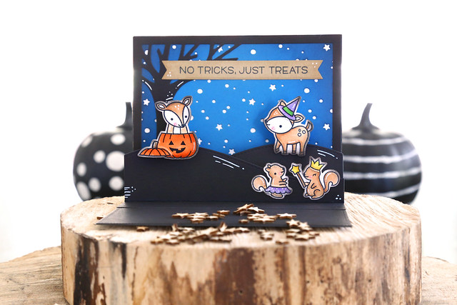pop-up halloween card (lawn fawn inspiration week)