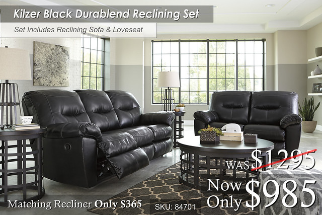 Kilzer Durablend Reclining Set