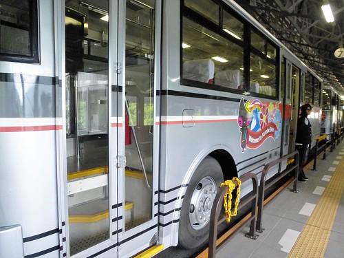 jp16-Kurobe Dam-trolley bus (1)