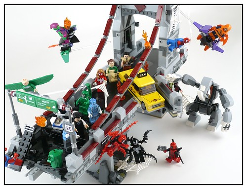 76057 Spider-Man Web Warriors Real Ultimate Bridge Battle 82