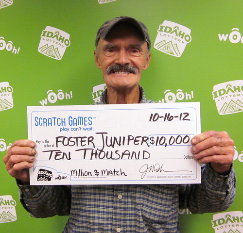 Foster Juniper - $10,000 Million Dollar Match | by Idaho Lottery