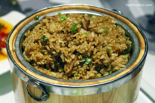 0755 Stir-fried Rice with Preserved Ham