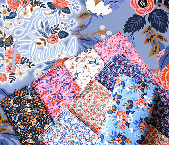 COTTON+STEEL Les Fleurs Collection by Rifle Paper Co.