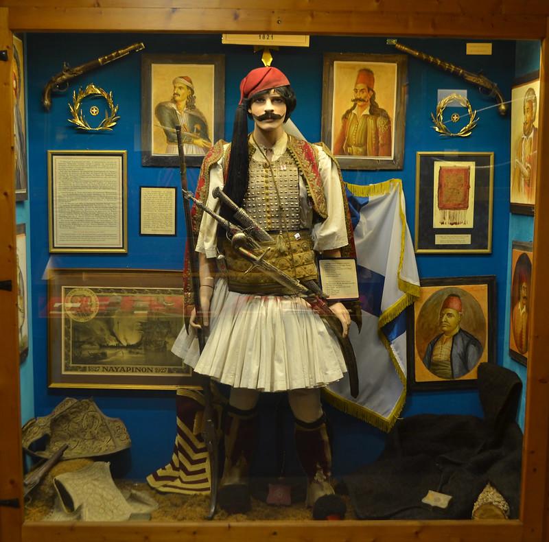 Ardor guerrero y patriotico. (Museo del gran Meteora).