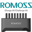 ROMOSS is a globally technology-oriented and reliable provider of charging solutions, specializing in power banks, car chargers and power adapters.