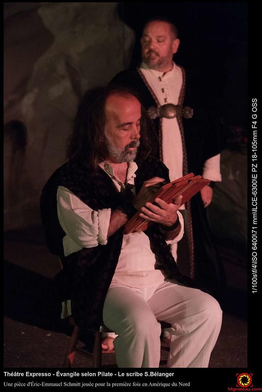 Théâtre Expresso - Évangile selon Pilate - Le scribe S.Bélanger