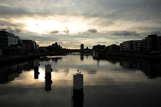 Un tramonto sul Liffey