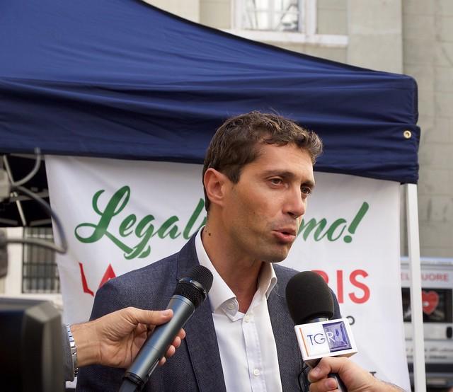 Conferenza stampa con Riccardo Magi