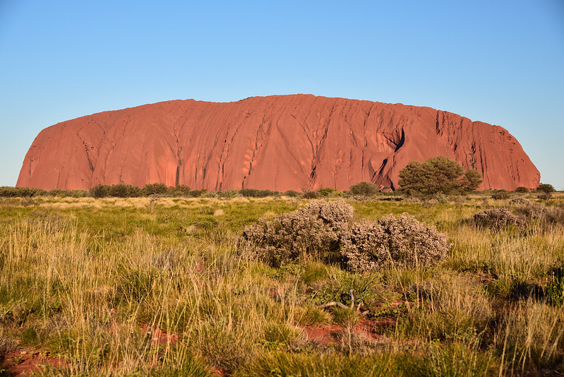 ULURU, Parque nacional Uluṟu-Kata Tjuṯa