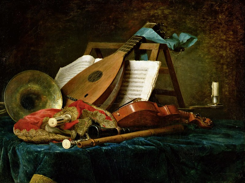 Anne Vallayer-Coster - Musical Instruments [1770]