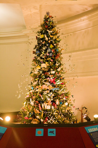 Origami tree, American Museum of Natural History | by gsz